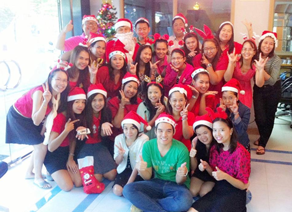 NAO Merry Christmas 2014